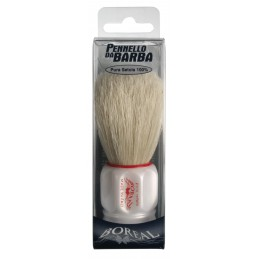 Brush beard, white plastic...