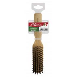 Hair brush wood ash,...