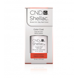 Shellac nail polish - CREAM...