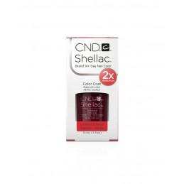 Shellac nail polish - OXBLOOD