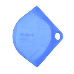 Blue case for face mask