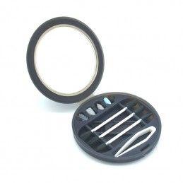 Black reusable silicone kit...