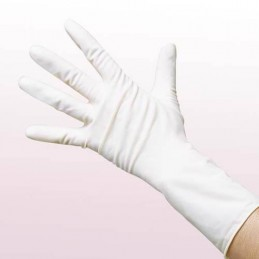 Vinyl gloves, large