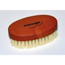 Massage brush chest and...